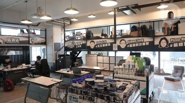 廖沛賢創立的平台近日搬入新寫字樓,員工亦增至12人。(梁健騰攝)