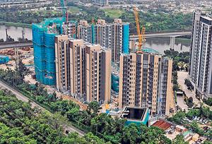 路勁地產旗下元朗錦田北山水盈,項目設有331伙,提供開放式至3房單位。(資料圖片)