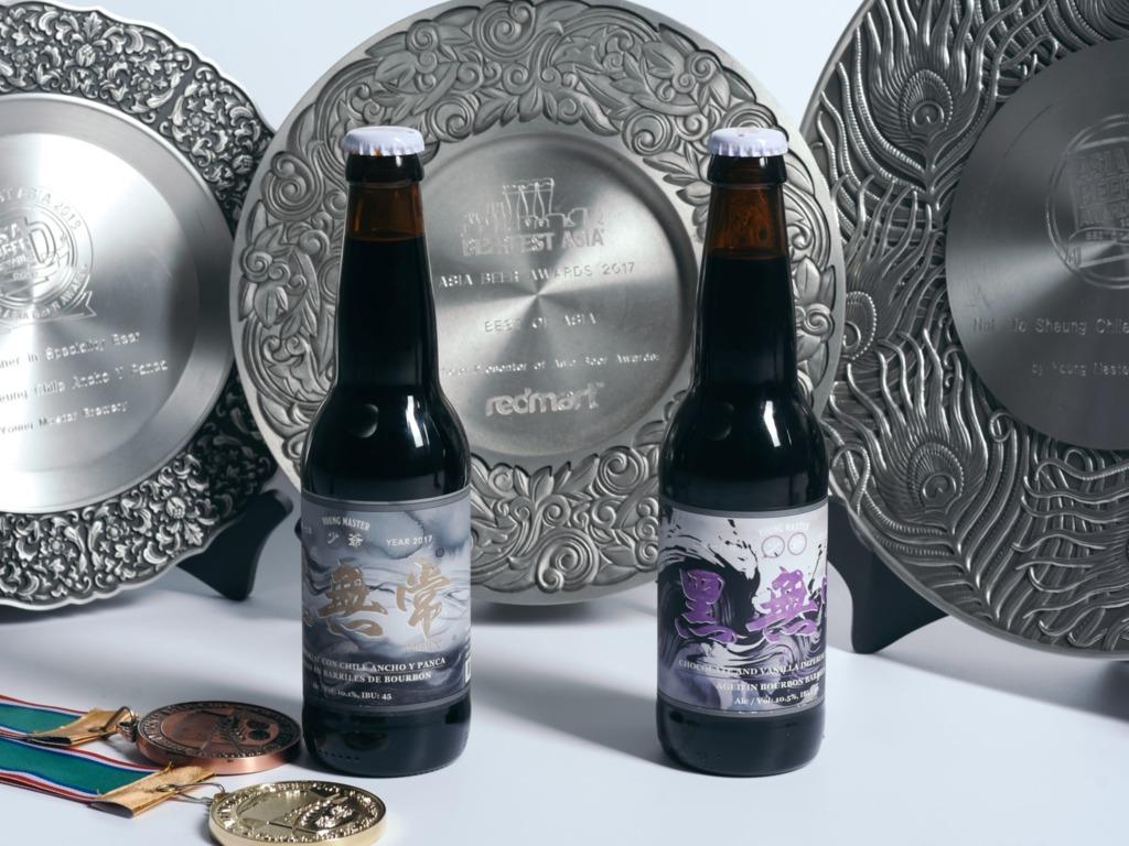 「黑無常」是亞洲暫時得到最多獎的啤酒,為釀出這款酒,公司收購了曾釀過威士忌的橡木酒桶,加上獨特配方,令這款酒帶有朱古力、咖啡、辣椒、可可的複雜味道。