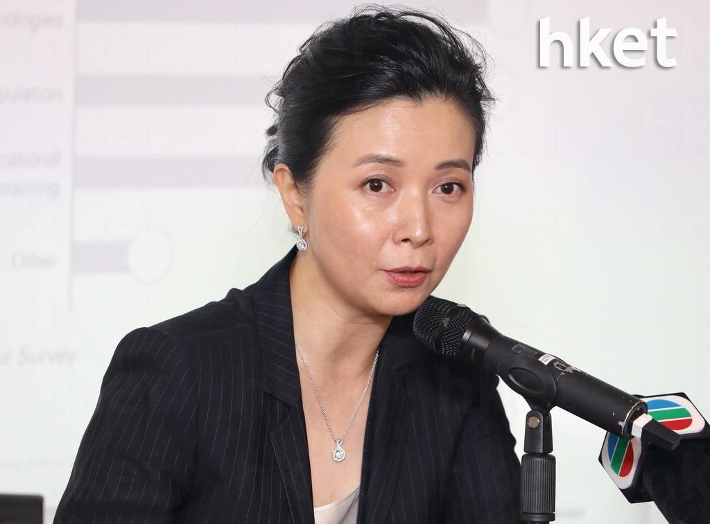 香港零售管理協會主席謝邱安儀表示,雖然過去一星期社會回復平靜,但12月1日再次動盪,故跌幅收窄或擴大仍有待觀察。(資料圖片)