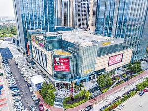 比鄰有大型商場,提供不少娛樂及購物配套。(代理提供圖片)