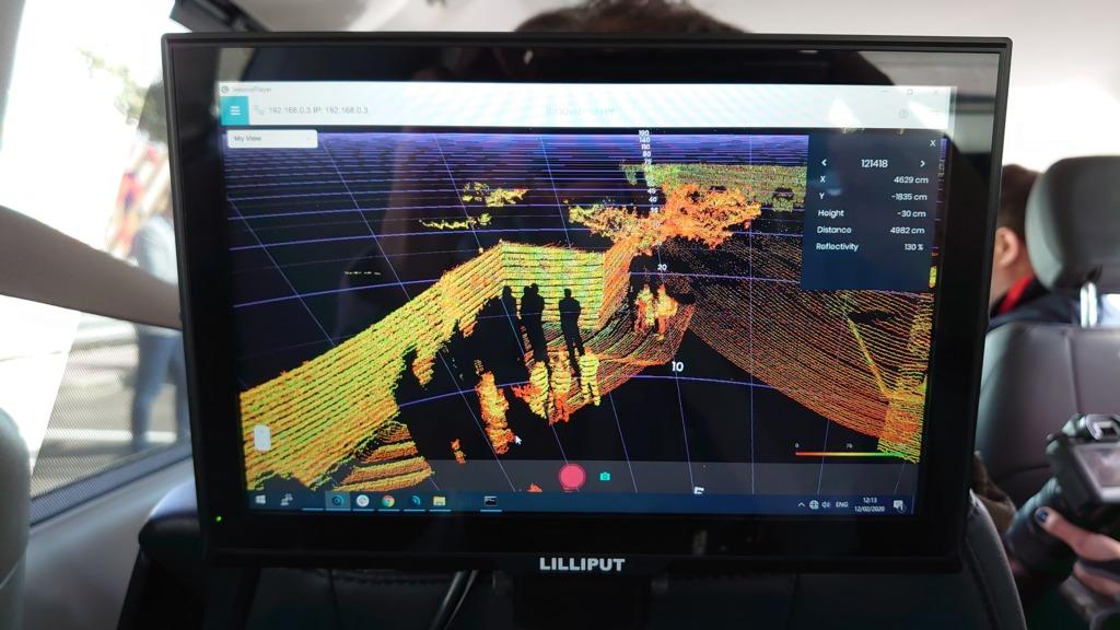 Innoviz早前在OurCrowd全球投資者峰會上分享其汽車光達技術。(周俊霖攝)