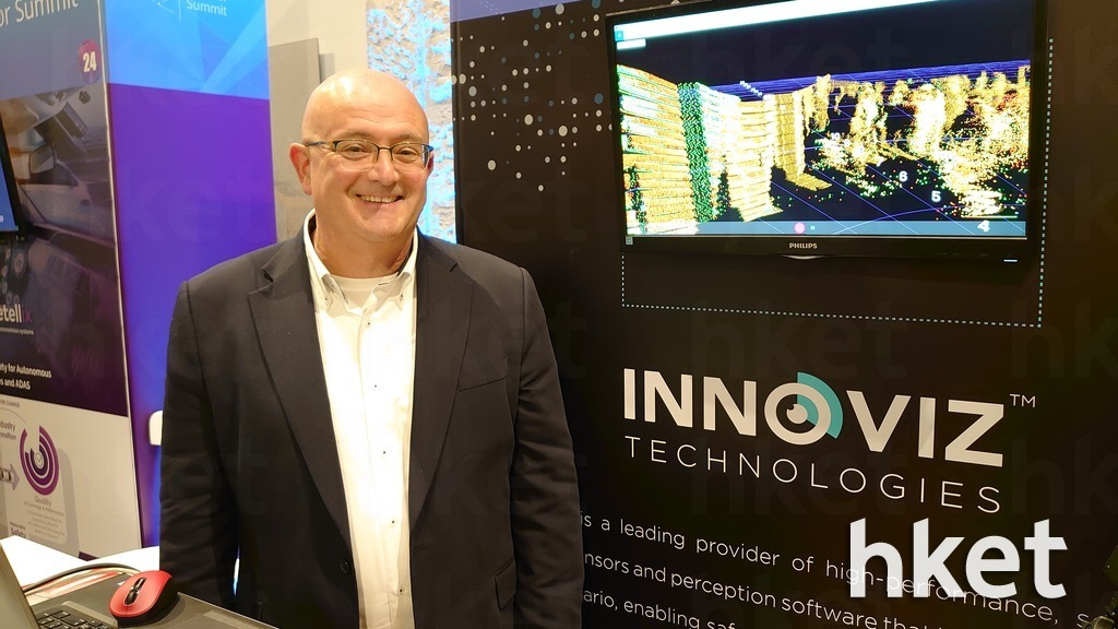 Innoviz Technologies亞洲副總裁David Oberman表示,中國對無人駕駛技術的接受程度較高,可成為先驅者。(周俊霖攝)