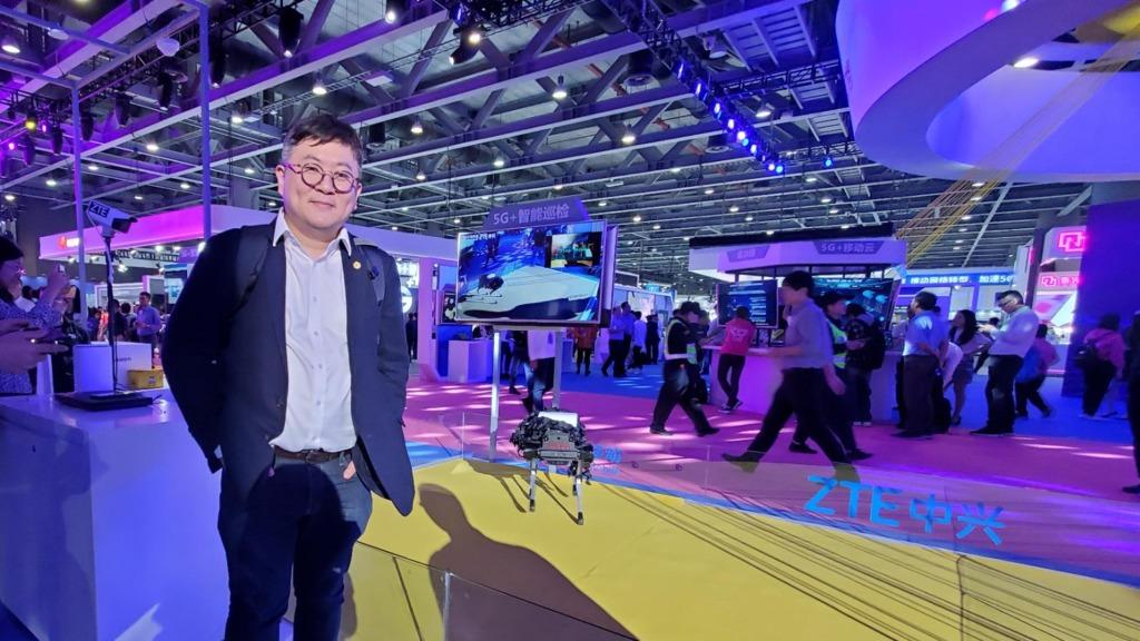 香港創科發展協會主席陳迪源。