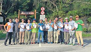 方荔茹於2012年應徵當導賞員,13年畢業,成為正式生態導賞員。(被訪者提供)