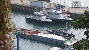 海關快艇年初沙洲沉沒 3殉職關員獲追授金英勇勳章