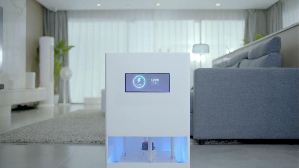 小米正式发布隔空充电技术。