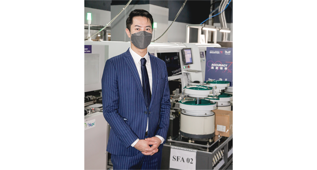 NiRoTech 财务总监叶祖禹认为香港的智能生产线将有助NiRoTech 平衡国内厂房长假期时难以出货的问题。