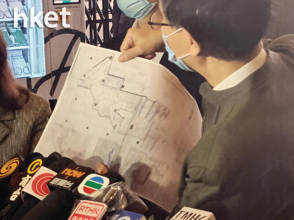 對港大微生物學系講座教授袁國勇早前視察「名潮食館」,指該店的鮮風量只及牌照要求的三分一水平。