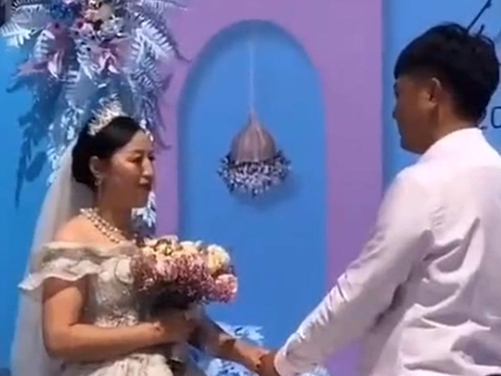 新娘與新郎。