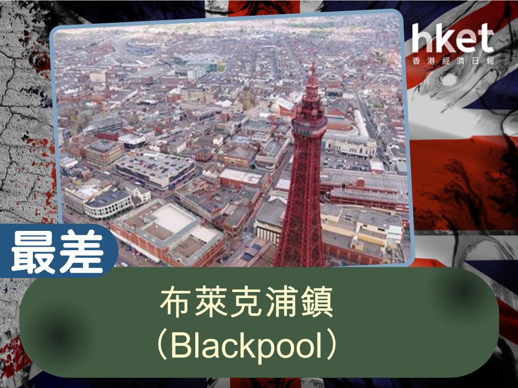 港人慣稱黑池,英格蘭西北部港口市鎮,屬蘭開夏郡,西臨愛爾蘭海,人口約14萬